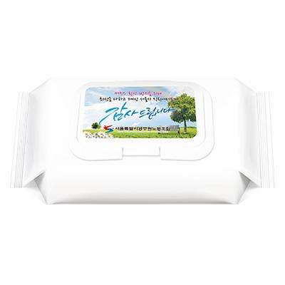 [대형 60매]40g 플레인 자연처럼 흰색 캡형
