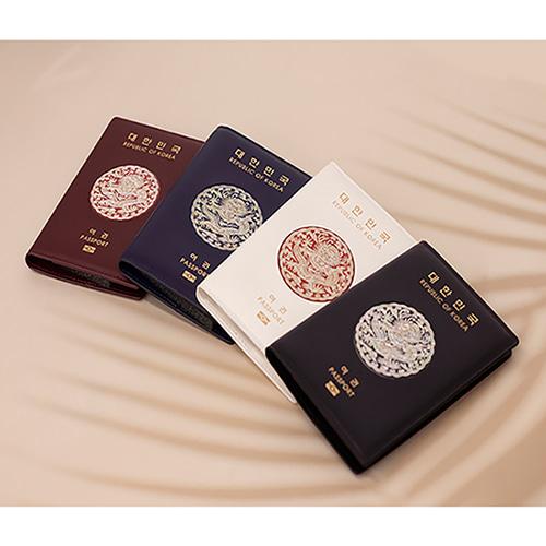 나빌레라 자개 여권지갑