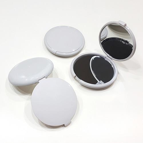 ST-075(대) 2배확대 양면콤팩트 거울 화이트