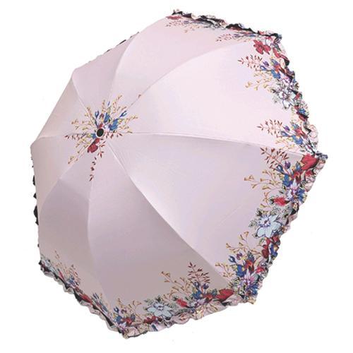 거꾸로3단 양우산- 꽃동산