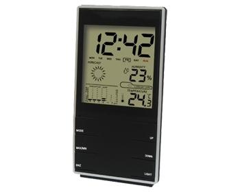 유로 디지털 온습도 시계