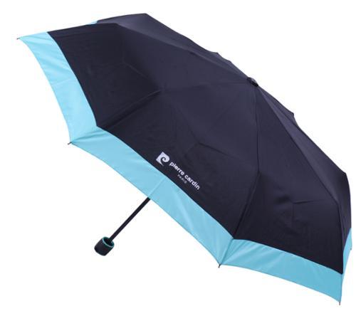 피에르가르뎅 3단 수동 컬러보더 우산