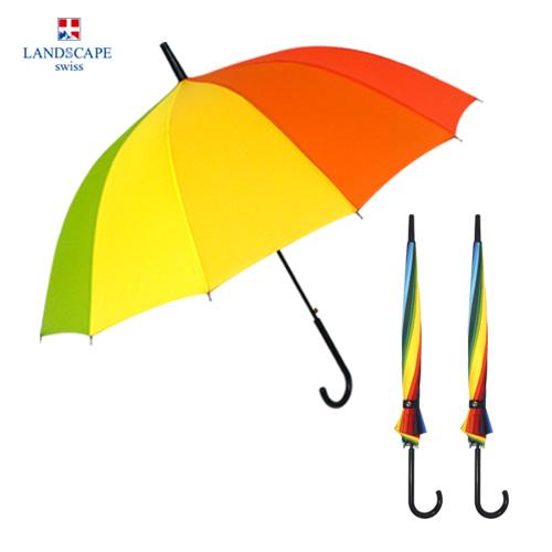 랜드스케이프 55-14K곡자무지개 장우산