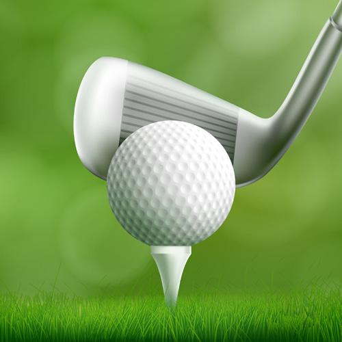 골프공 석고방향제