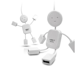플라이토 아이맨 USB허브 4포트