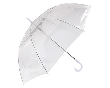 60 고급투명우산(곡자손잡이)