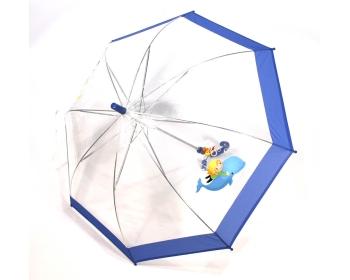 48캐릭터밴드 호루라기 투명우산