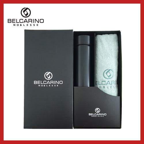 [벨카리노] 130g 면사타올+진공 텀블러(500ml) 세트