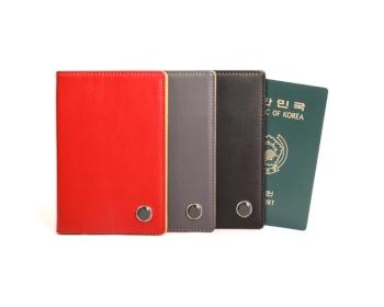 가죽 투톤 여권지갑