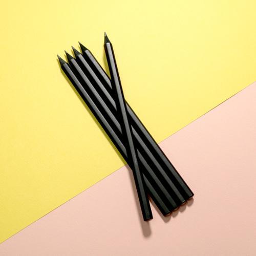 무광흑목 미두연필(B)
