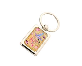 사각열쇠고리(훈민나비)