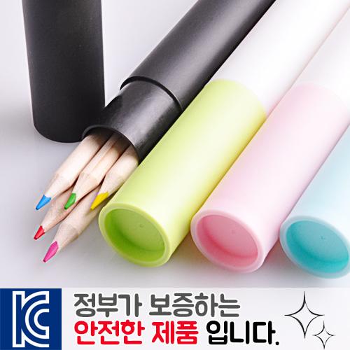 내츄럴 색연필 바닐라원통세트5p