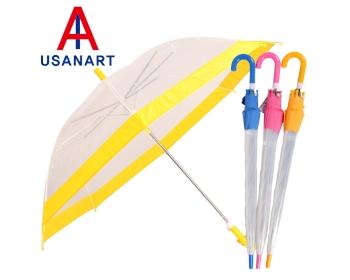 우산아트 55 투명컬러보다 아동우산 [100개이상 제작]