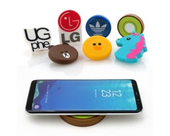 고객맞춤 스마트폰 무선 충전기 (DIY LOGO PAD)