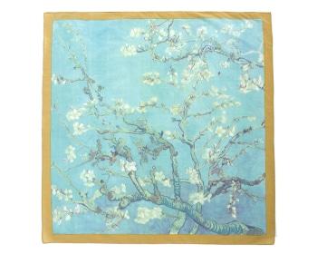 로얄 꽃피는아몬드나무 손수건