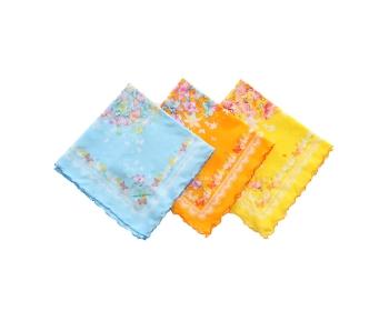 로얄 꽃나비 미듐 바이어스 손수건