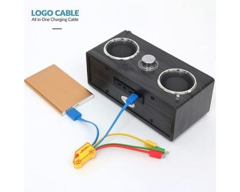 로고케이블(Logo Cable)-고객 맞춤 멀티 충전 케이블
