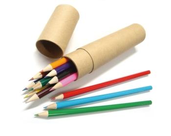 12색 색연필 원통세트