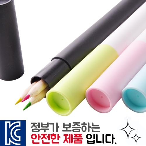 내츄럴 색연필 바닐라원통세트3p