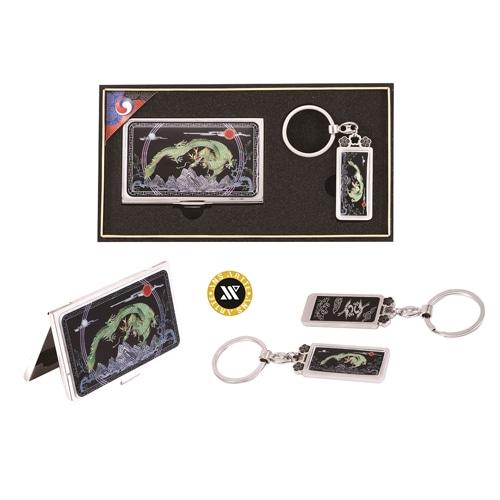 드레곤흑자개명함+열쇠고리