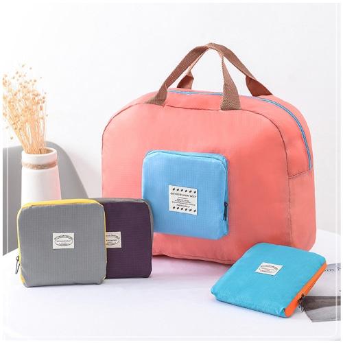 파스텔 휴대용 여행 보조가방