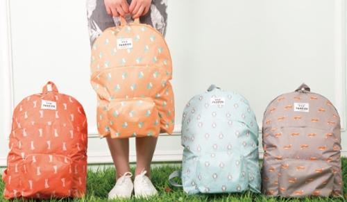 (BM-57) 접이식 캐릭터 가방 접이식 배낭 여행 가방