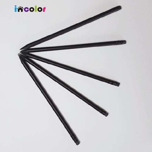 무광흑목 원형연필(B)
