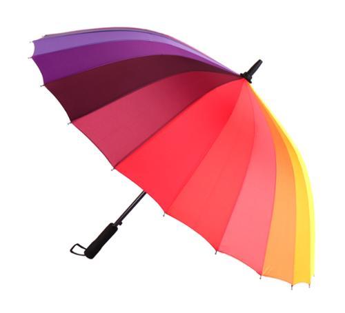 피에르가르뎅 60 무지개 자동 24K 장우산