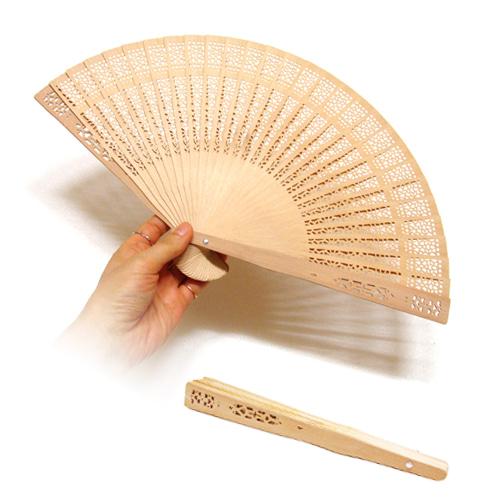 대나무 접이식 전통 부채_인쇄가능