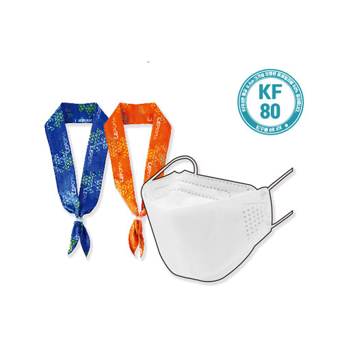 KF80 마스크 + 아이스쿨스카프 세트