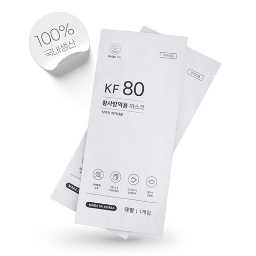 KF80 제이엘티케어 마스크