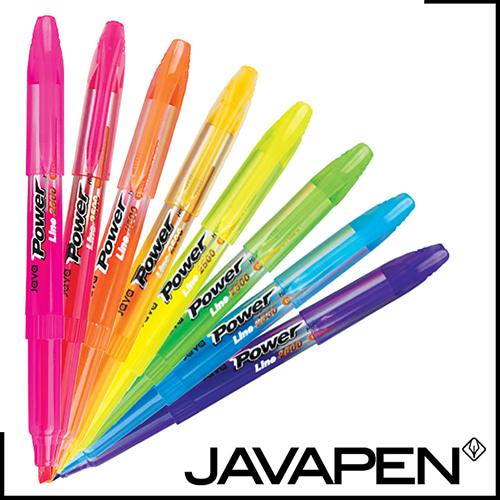 자바-파워라인형광펜