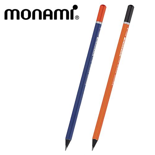 모나미 바우하우스  삼각연필(HB,B)